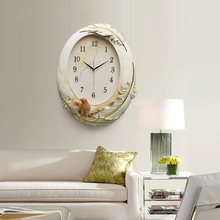 3D Number white board Resin wall clock for home decoration