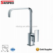 Sanipro Modern Counter Top Single Lever Bathroom Smart Basin Faucet