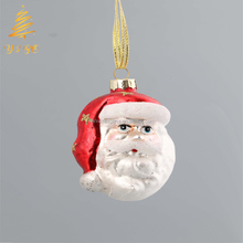 Santa claus head hanging ornaments for Christmas tree