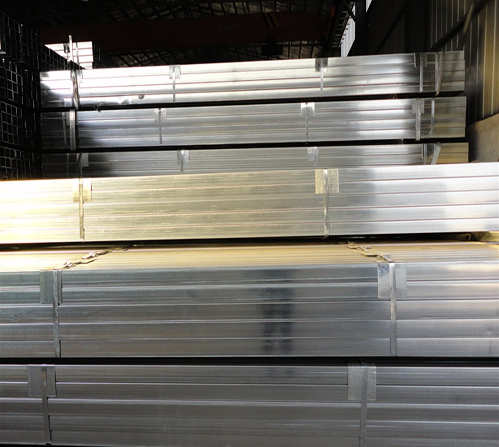 length 6m and 25*25mm Thickness 1.5mm pre galvanized tubes pipe