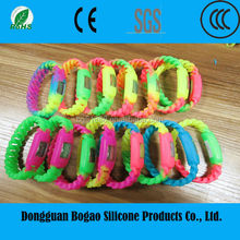 High Quality Wholesale China Supplier Cheapest Bulk Stock Wrist Kids Silicone Slap Wristband Digital Watches