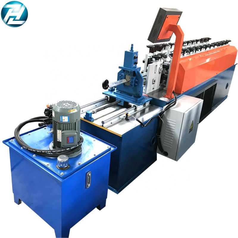 Metal <strong>C</strong> Shape Furred Ceiling Studs Track / Drywall Steel ceiling drywall roll forming machine