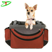 Ourting portable bicycle sporty dog carrier front bike basket pet tote bag