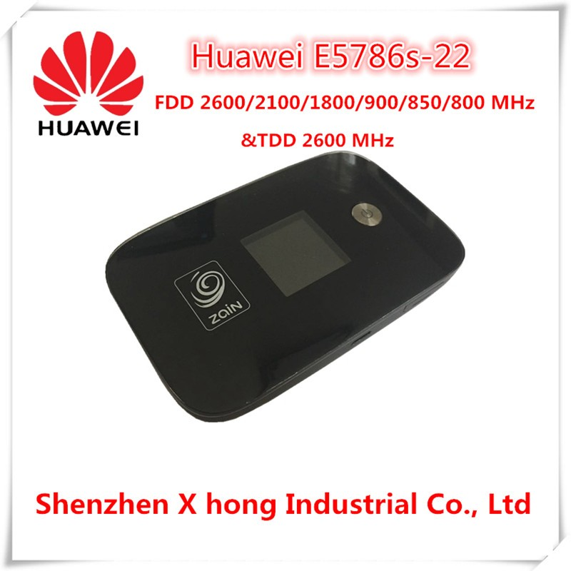 Unlocked New 300Mbps HUAWEI E5786s-22 4G Wireless WiFi Router and 4G LTE CAT6 Mobile WiFi Router