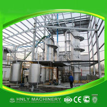 full set of camellia oil refinery production line with blenching, dewaxing process
