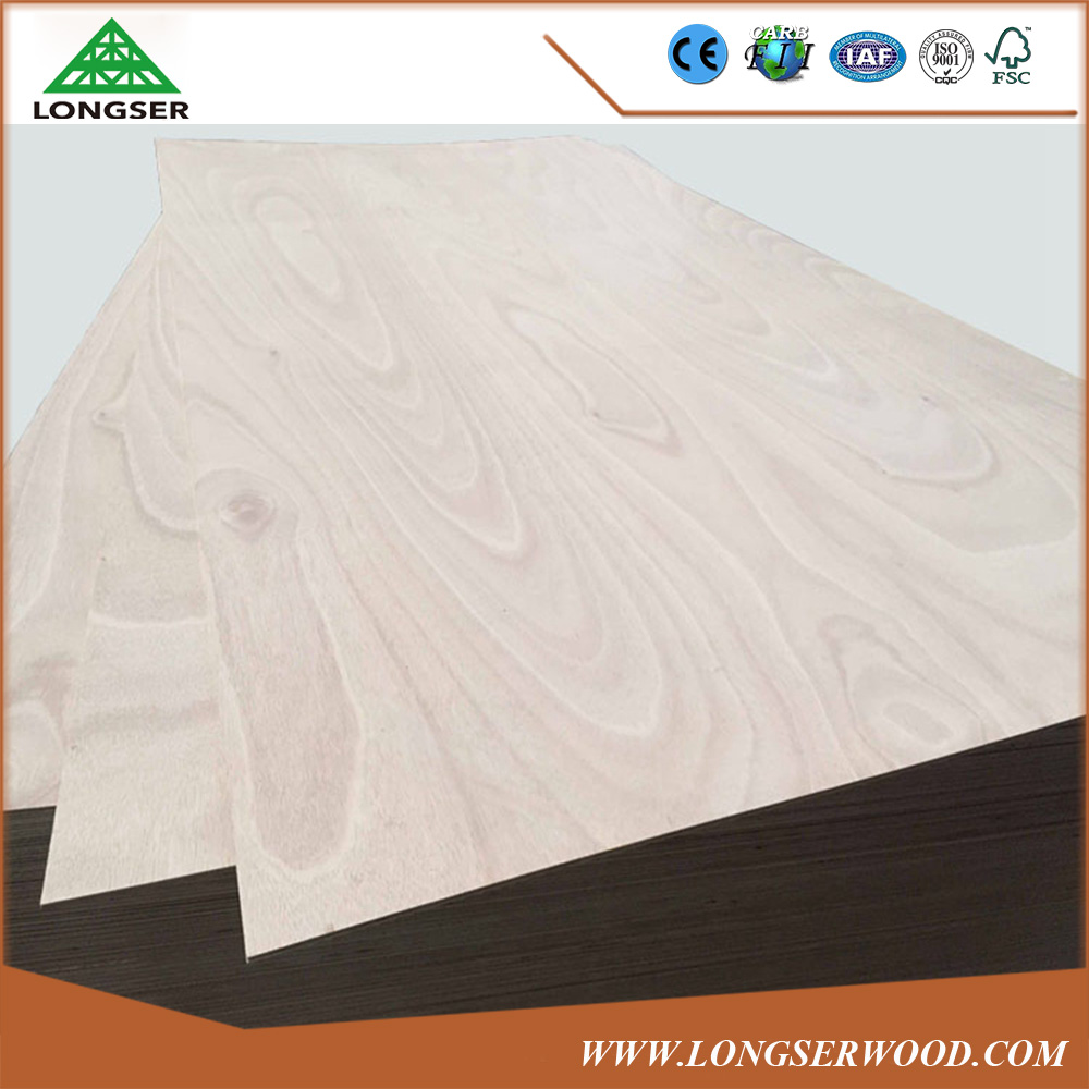 Hot Sale best price okoume plywood wood with poplar hardwood eucalyptus core
