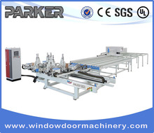 PVC Door and Window Wedling & Cleaning Processing Machine Center Line