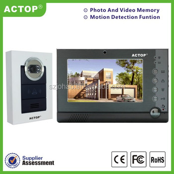 apartment video intercom system wired video door phone buy video
