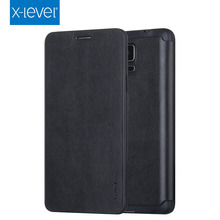 Wholesales 5.7 Inch Mobile Phone Leather Case For Samsung Galaxy Note 4