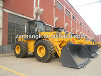 new design wheel loader zl-50 with Cummins engine zf transimission gear box hydraulic control joystick ,