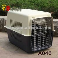 A046 Plastic Material Air Pet Cage Special For Police and Big Dog