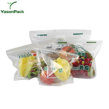 Transparent Top Grade Fresh Fruit Preservative General Grape Cherry Red Lift Sealed Packaging Bag