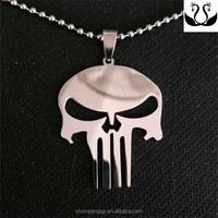 Europe and America super hero indiriduality skull the punisher pendant