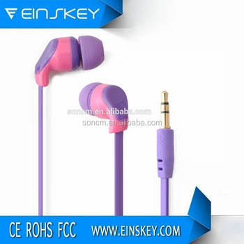 Shenzhen factory supply cheapest earphone with microphone for mobile phone