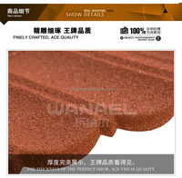 Colors Stone-Coated Metal Roof Tile Forming