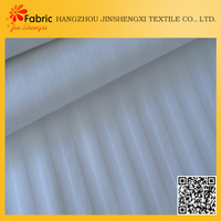 Satin striped beddings quilting bed sheet breathable waterproof lining fabric