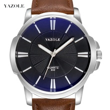 Yazole <strong>Z</strong> 332 Watches Men Wrist 2020 Mens Watch Fashion Waterproof Quartz wholesale Watches for men Luxury Wristwatch