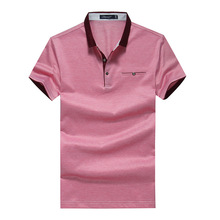 Free Shipping high quality stripe 100% cotton stock polo shirt <strong>designs</strong> short sleeves men t shirts 52/54