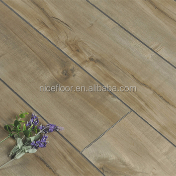 China factory direct sale waterproof soundproof laminate wood flooring with EIR surface
