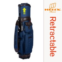 HELIX New Style High Quality folding travel golf bag with rain cover