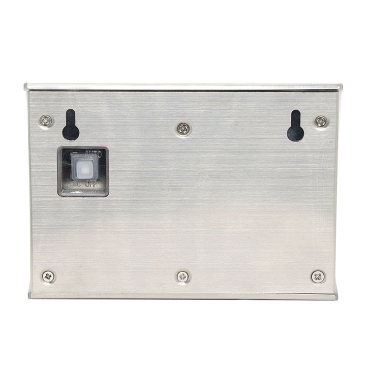 New Design Outdoor Waterproof Stainless Steel LED Solar Wall Light with Motion Sensor