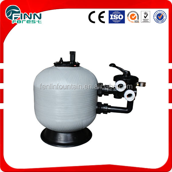 Hot selling swimming pool water well manganese sand filter for water treatment