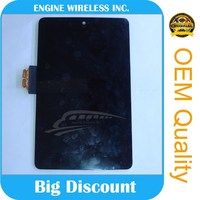 china mobile phone lcd manufacturer for asus nexus 7 lcd digitizer with frame