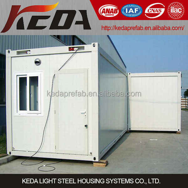 Low cost flat pack container house modular office container house price