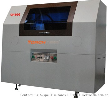 Online LED automatic stencil printer for LED strip and bulb SP400