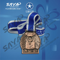 3D custom logo sports medal / award sport medallion