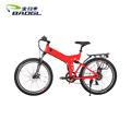 26 inch folding electric mountain bicycle snow e bike electric fat bike 36V lithium battery 350W high speed motor tire bike