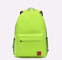 YiWu Wholesale High Quality Low Price Teenager Backpack Cute Color Delicate Girl School Bags Big Capacity Canvas Bag Backpack