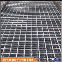 factory hot dipped galvanized catwalk flooring platform steel grid grating floor (Trade Assurance)