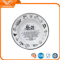 High quality enamel fruit and candy casserole dish