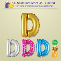 16 inch silver letter party wedding occssion decoration supply