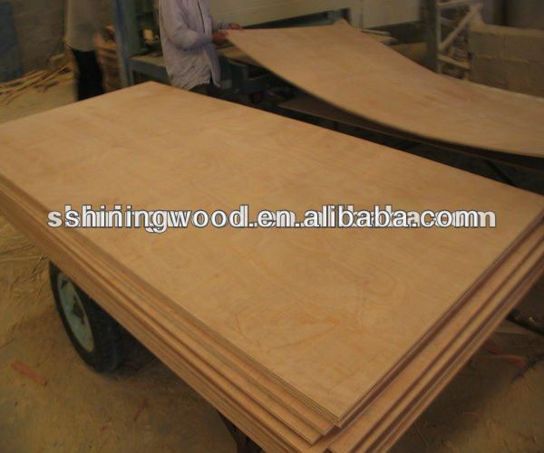 CE Qualified Chinese Commercial plywood, 1220X2440MM, BB/CC grade, MR glue(From Professional Manufacturer)