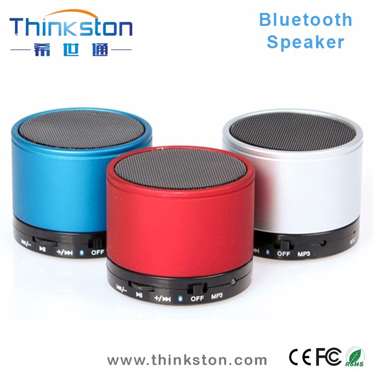 Top selling mini aluminum bluetooth speaker with fm radio and mic