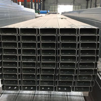 Cold Forming C type channel steel purlin Integral part of modern roof construction galvanized C purlin