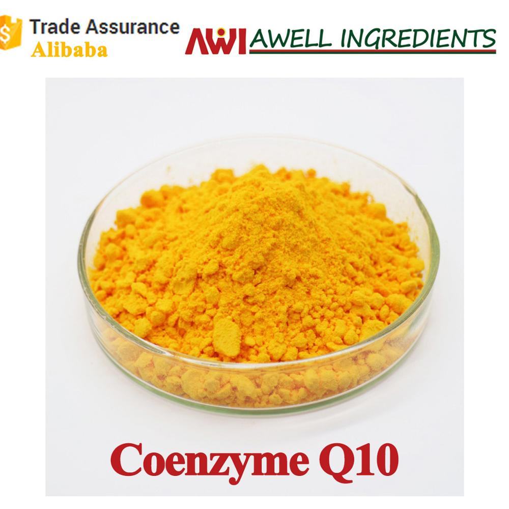 Plant Extraction Coenzyme Q10 Powder,Coenzyme q10 for Food/ Health Care/Skin Care/Medicine