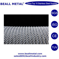 304 316 1*19 Stainless Steel Wire Rope With Top Quality and Best Price