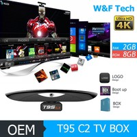 Camera TV Box with Android 5.1 Smart TV Box 5MP Skype Webcam Supported T95C2 TV Box