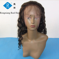 Cheap wholesale discount 100% human hair virgin indian remy full lace wig