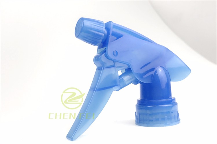 Custom Plastic Screw Trigger Sprayer with spray paint