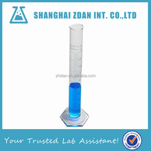 100ml Hexagonal Glass Measuring Cylinder