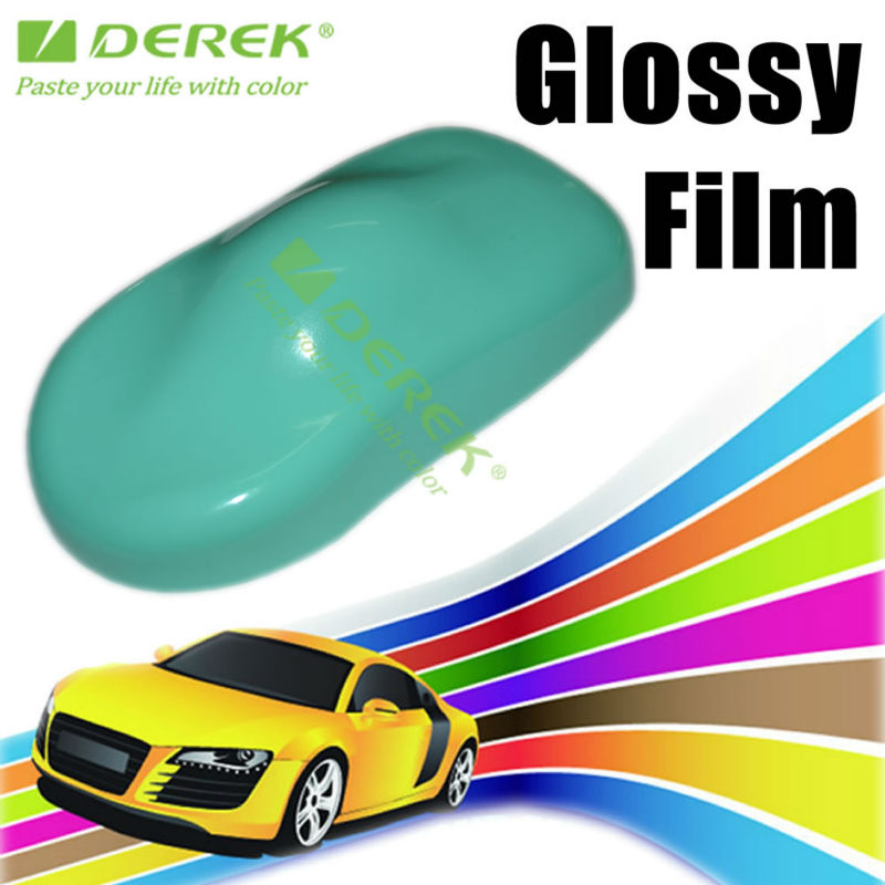 new tiffany blue paint protection plain glossy car sticker auto wrap vinyl