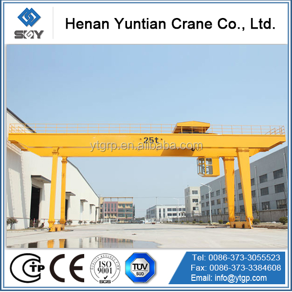OUTDOOR USED NEW MODEL EUROPEAN STANDARD GANTRY CRANE MANUFACTURE