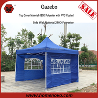 STOCKED Competitive Price Outdoor Garden Hot Sale Product 3x3m Water Resistant PVC Outdoor Gazebo Garden Tent