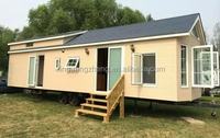 Economic villa modular house prefab home prefabricated house cheap prefab steel structure container house