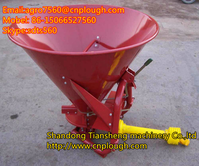 CDR series of fertilizer spreader about tow behind salt spreader