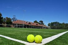 Artificial Grass For Tennis With Easy To Installation Field